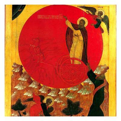 Montee au Ciel du Prohete Elie--Art Print