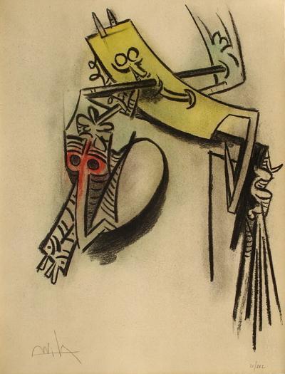 Montée des sèves-Wilfredo Lam-Limited Edition
