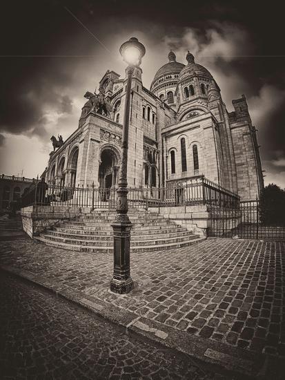 Montemartre-Sebastien Lory-Photographic Print