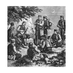 Montenegrin Soldiers Singing Warsongs