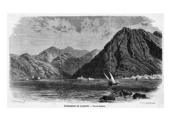 Montenegro Perastro--Giclee Print