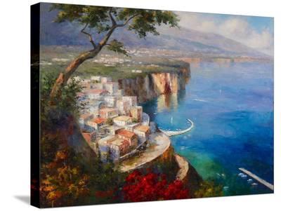 Monterosso Coast-Gasini-Stretched Canvas Print