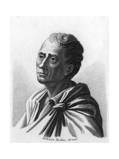Montesquieu (1689-1755)-Ambroise Tardieu-Giclee Print