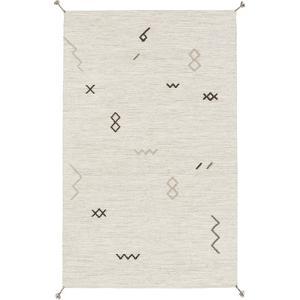 Montezuma Area Rug - Light Gray/Taupe 5' x 8'