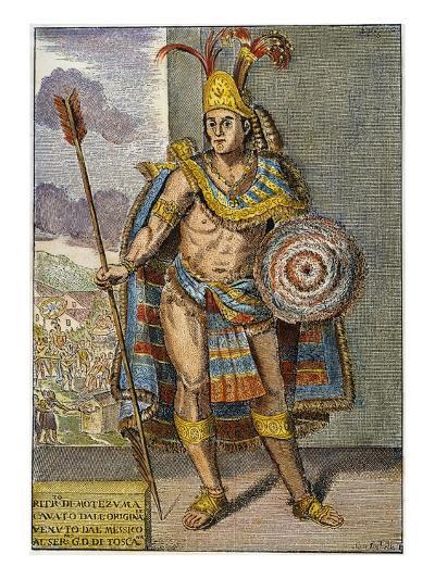 Montezuma Ii (1480?-1520)--Giclee Print