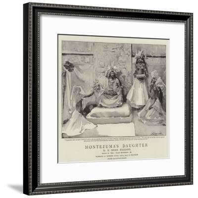 Montezuma's Daughter-John Seymour Lucas-Framed Giclee Print
