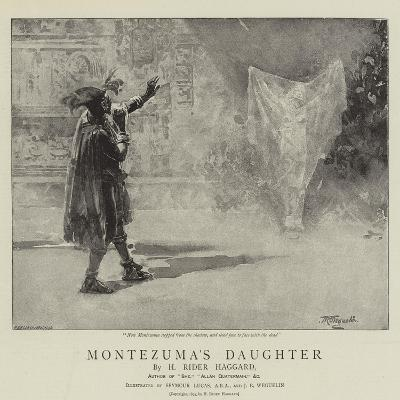 Montezuma's Daughter-John Seymour Lucas-Giclee Print