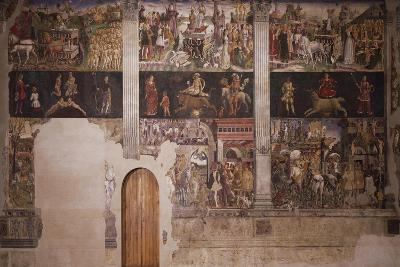 Months of May, April and March, Circa 1470-Francesco del Cossa-Giclee Print