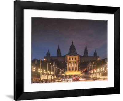 Montjuic, Barcelona, Catalonia, Spain, Europe-Angelo Cavalli-Framed Photographic Print
