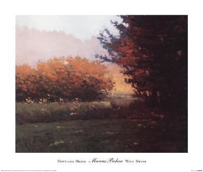 Montlake Hedge-Marcus Bohne-Art Print