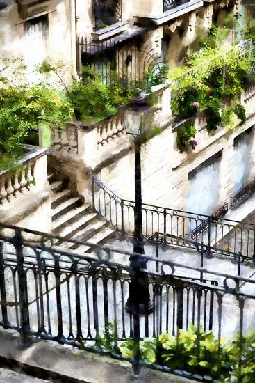 Montmartre Lantern-Philippe Hugonnard-Giclee Print