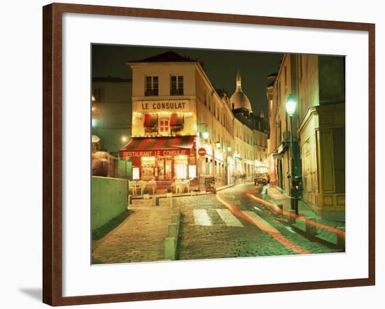 Montmartre, Paris, France-Roy Rainford-Framed Photographic Print