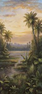 Tropical Lagoon II by Montoya