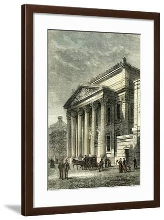 Montreal Canada 1858--Framed Giclee Print
