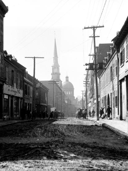 Montreal, Canada, 1912-Edward Hungerford-Photographic Print
