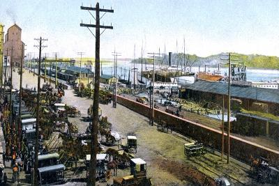 Montreal Harbour, Montreal, Canada, C1900s--Giclee Print