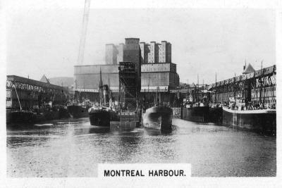 Montreal Harbour, Quebec, Canada, C1920S--Giclee Print