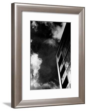 Montreal Monochrome VII-Jean-François Dupuis-Framed Art Print