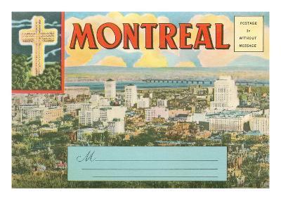 Montreal Post Card Folder--Art Print