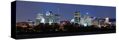 Montreal River Panorama atDusk--Stretched Canvas Print