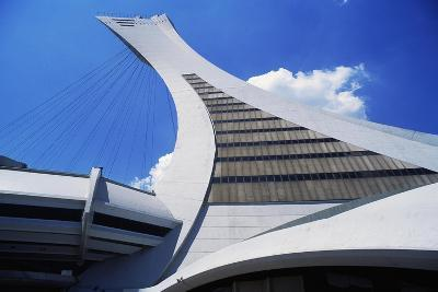 Montreal Tower, Detail from Olympic Stadium--Giclee Print