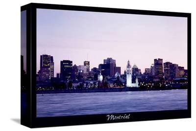 Montreal--Stretched Canvas Print