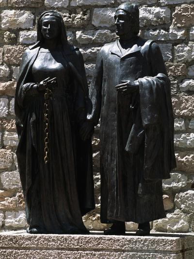 Monument Depicting St Francis' Parents, Chiesa Nuova, Assisi--Photographic Print