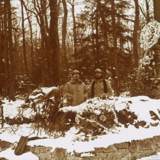 Monument des Chasseurs, Col de la Chipotte, eastern France, c1914-c1918-Unknown-Photographic Print