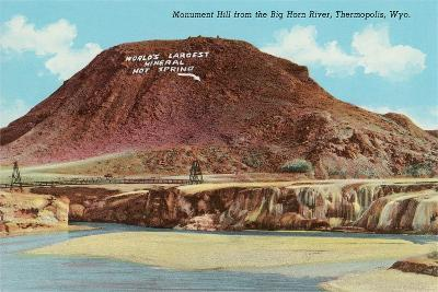 Monument Hill, Thermopolis--Art Print