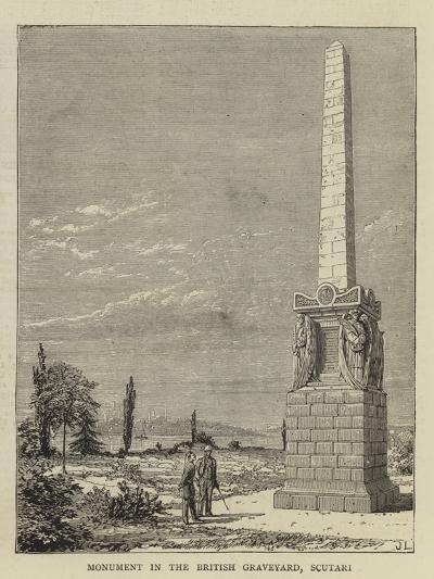 Monument in the British Graveyard, Scutari--Giclee Print