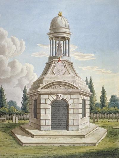 Monument in the Churchyard of St Mary the Virgin, Leyton, Waltham Forest, London, C1820--Giclee Print