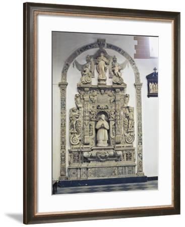 Monument in Transept of Agrigento Cathedral--Framed Giclee Print