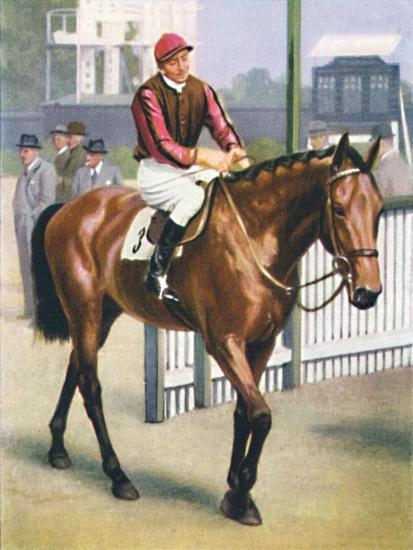 Monument, Jockey: P. Beasley', 1939-Unknown-Giclee Print