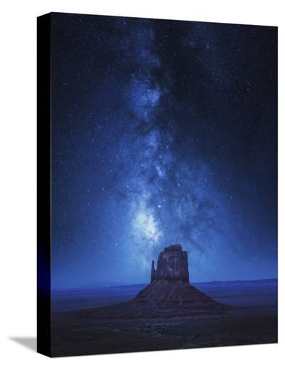 Monument Milkyway-Juan Pablo De-Stretched Canvas Print