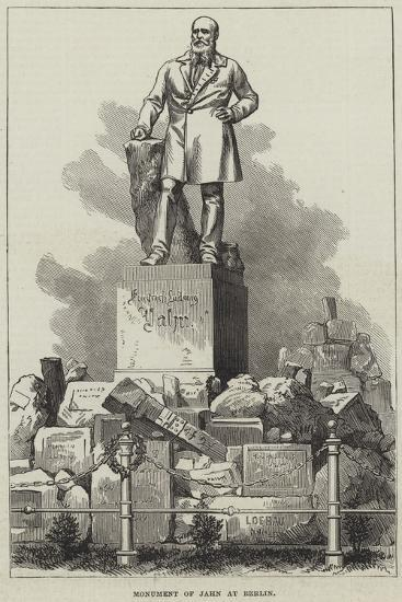 Monument of Jahn at Berlin--Giclee Print