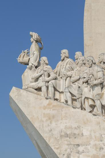 Monument of the Discoveries, Lisbon, Portugal-Jim Engelbrecht-Photographic Print