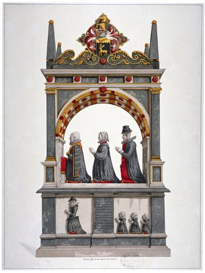 Monument to Alderman Richard Humble and Family, St Saviour's Church, Southwark, London, C1700--Giclee Print