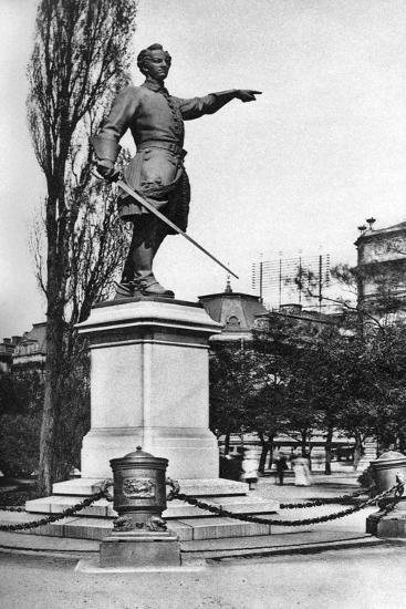 Monument to Charles XII, Gardens Behind the Royal Opera House, Stockholm, Sweden, C1923--Giclee Print