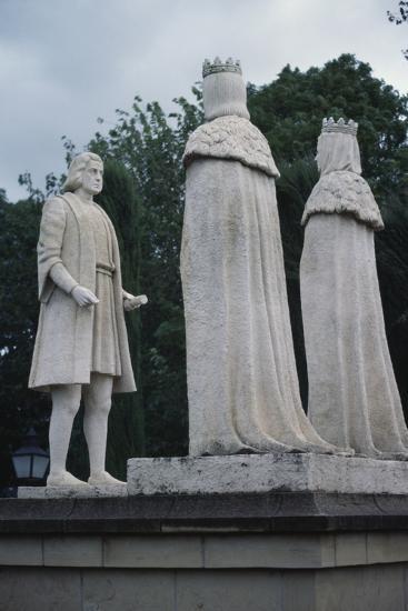 Monument to Christopher Columbus, Cordoba, Andalusia, Spain--Giclee Print