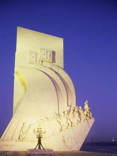 Monument to Discoveries, 1960, on Bank of Tagus River, Belem District, Portugal, Detail--Photographic Print