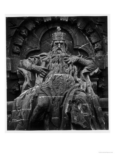 Monument to Emperor Barbarossa, Kyffhaeuser Mountain-Simon Marsden-Giclee Print