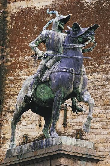 Monument to Francisco Pizarro (Ca 1475-1541), Trujillo, Extremadura, Spain--Giclee Print