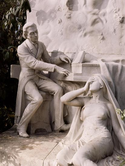 Monument to Frederic Chopin-French School-Giclee Print
