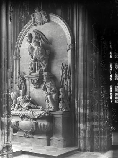 Monument to George Villiers, 1st Duke of Buckingham, Westminster Abbey, London-Frederick Henry Evans-Photographic Print