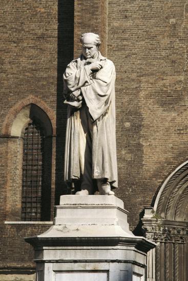 Monument to Gian Domenico Romagnosi, 1867-Cristovao Lopes-Giclee Print