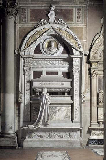 Monument to Gioacchino Rossini, by Cassioli--Photographic Print