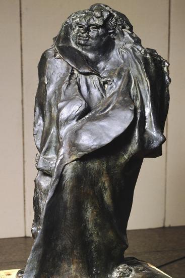 Monument to Honore' De Balzac-Auguste Rodin-Giclee Print