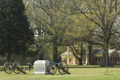 Monument to Illinois Soldiers in Front of the Visitor Center, Shiloh, Tennessee--Photographic Print