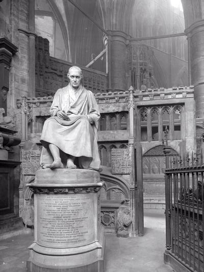 Monument to James Watt in St Paul's Chapel, Westminster Abbey, London-Frederick Henry Evans-Photographic Print