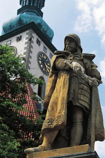 Monument to Jan Hus--Giclee Print